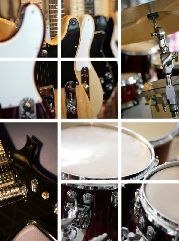 Buy used musical instruments