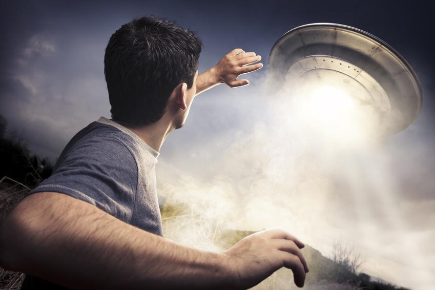 Model flying saucer