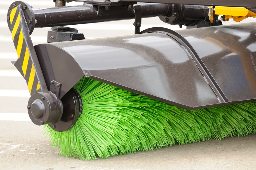 Dc commercial sweeping