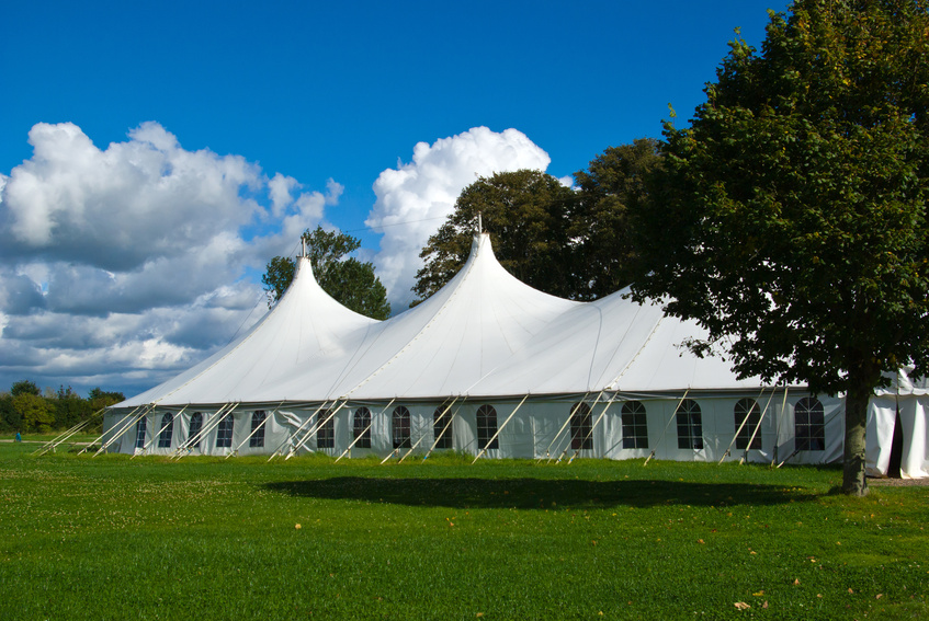 Wedding tents rentals