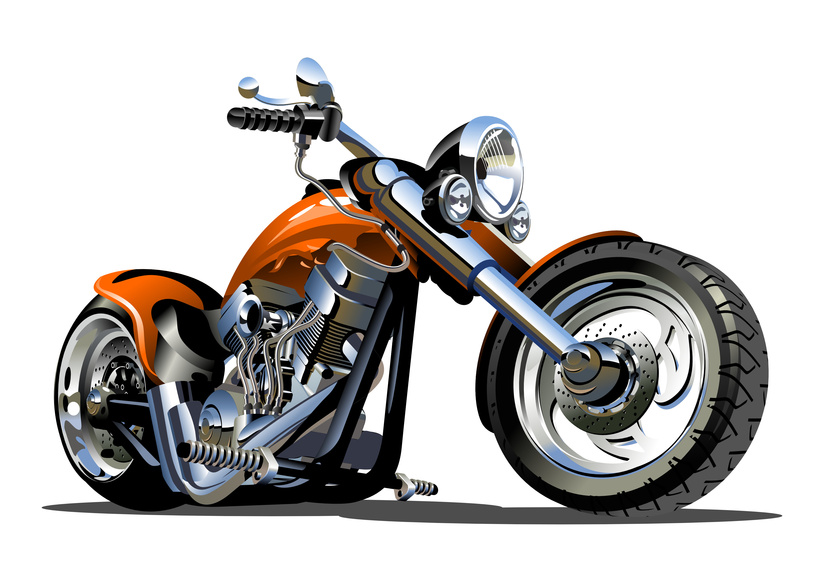 Custom parts for motorcycles