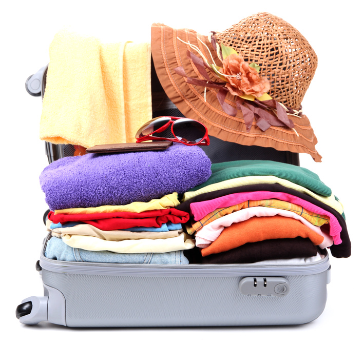 International travel tips packing
