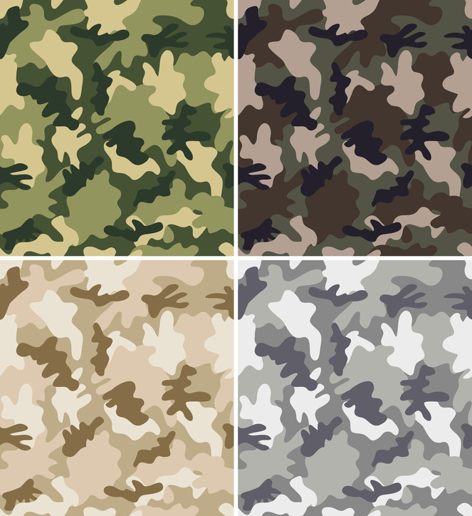 Camo bedding for kids