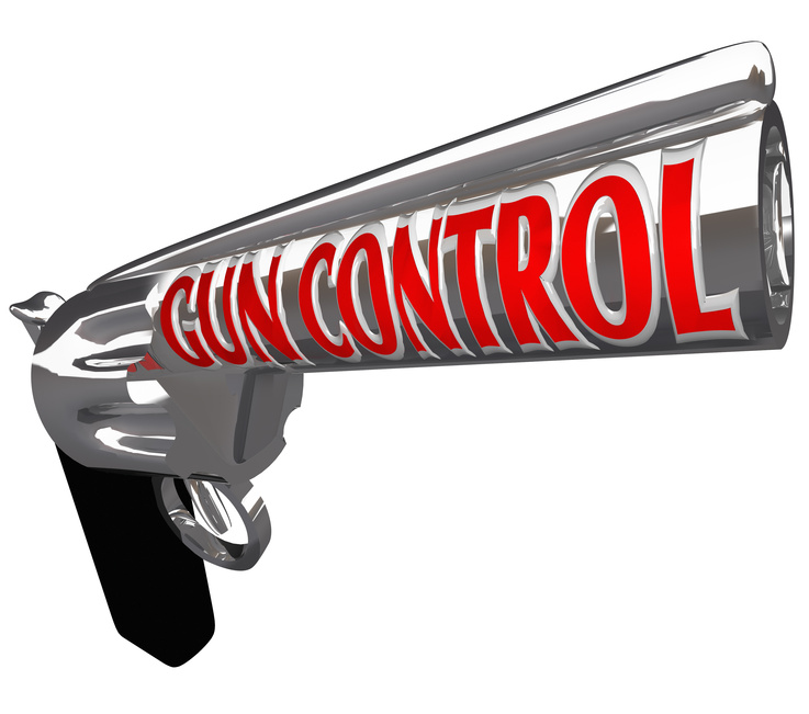 Gun control article