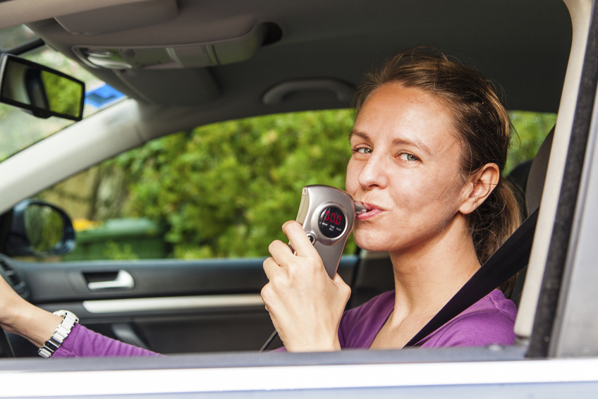 Car breathalyzer