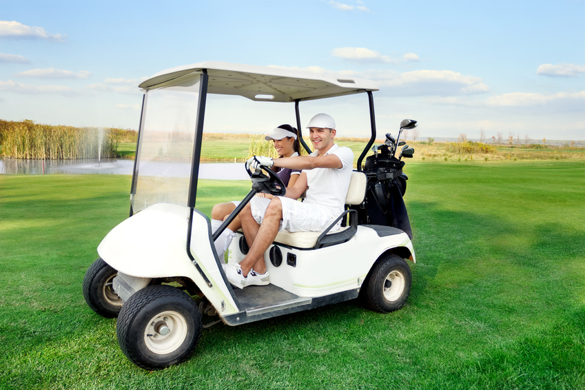 Pre owned golf carts