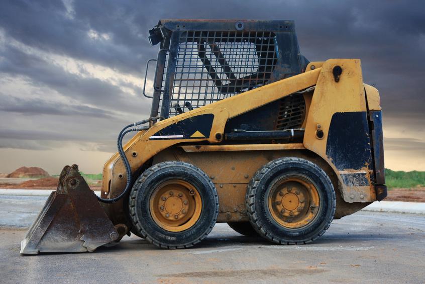 final drive motor for a bobcat