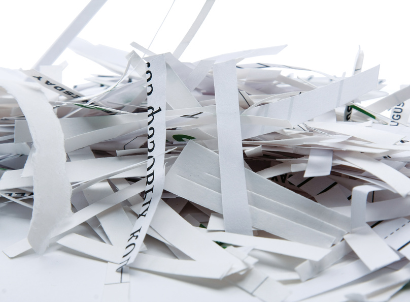 Onsite document shredding
