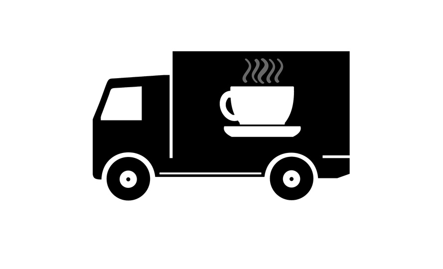 Mobile coffee shop franchise