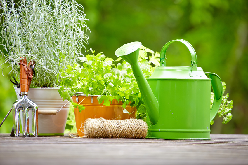 Supplies for gardening