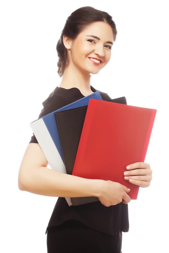 Standard pocket folders