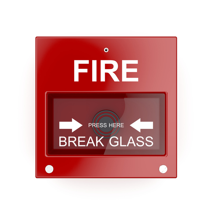 Fire alarm monitoring system