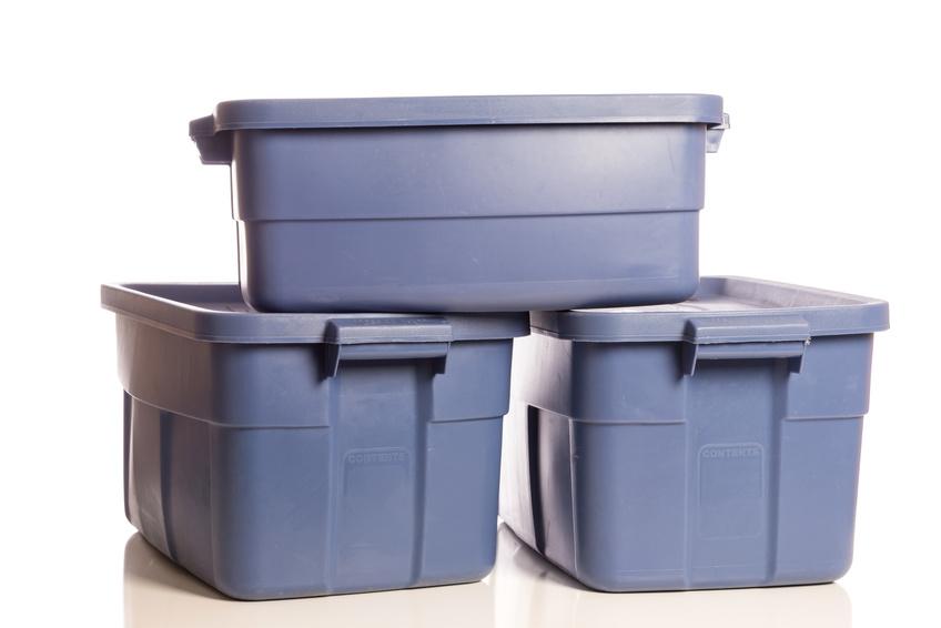 Clear plastic jug