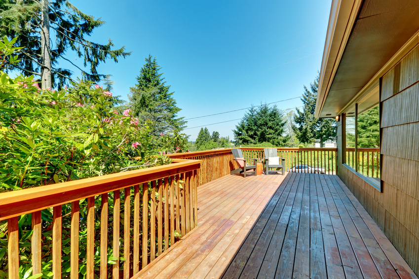 Outdoor patios and decks