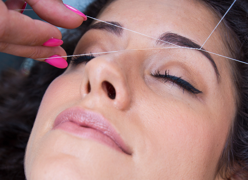 Eyebrow threading prices