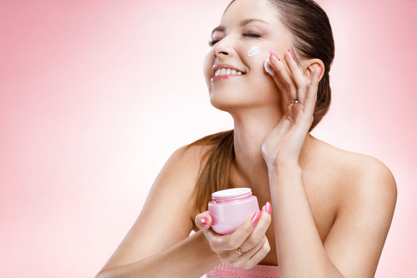 Face creams with collagen