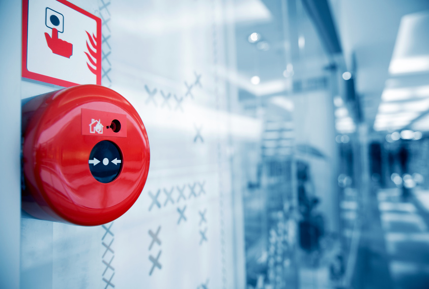 Commercial fire sprinkler system