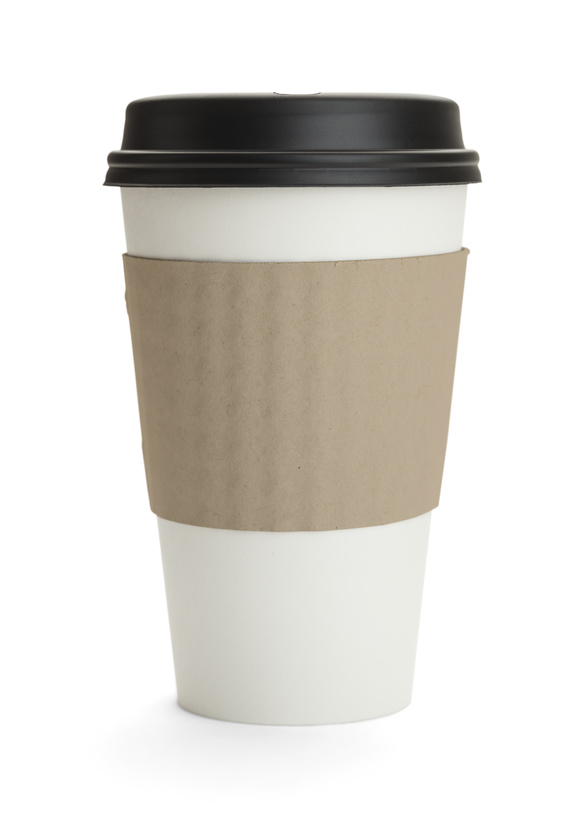 Pesonalized disposable coffee cups