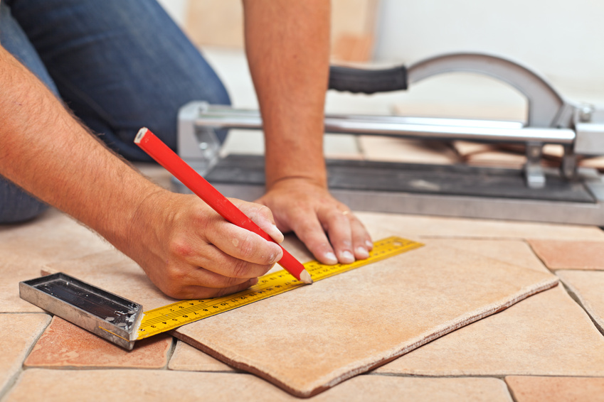Tile installation contractors