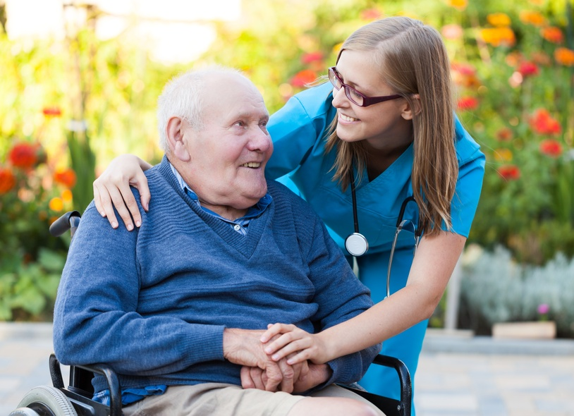 Professional care for seniors