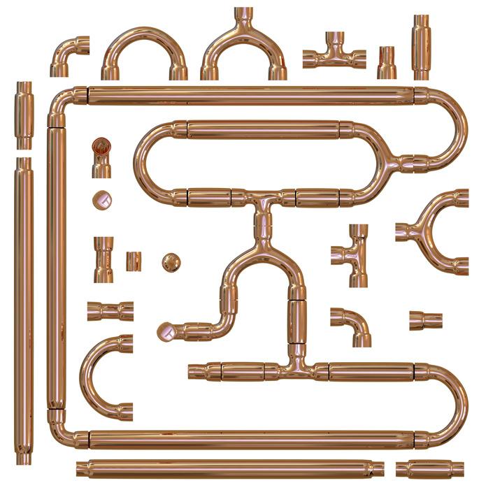 Brass hose barb
