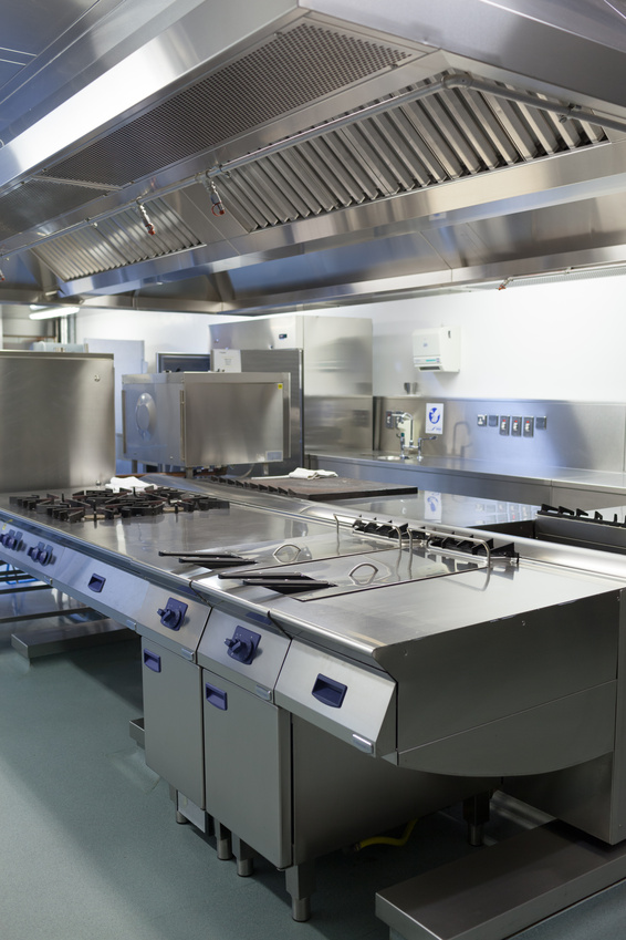 Commercial catering installations