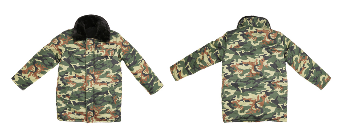 Army camo clothing