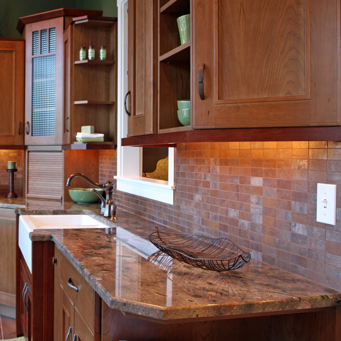 Custom kitchen cabinet design