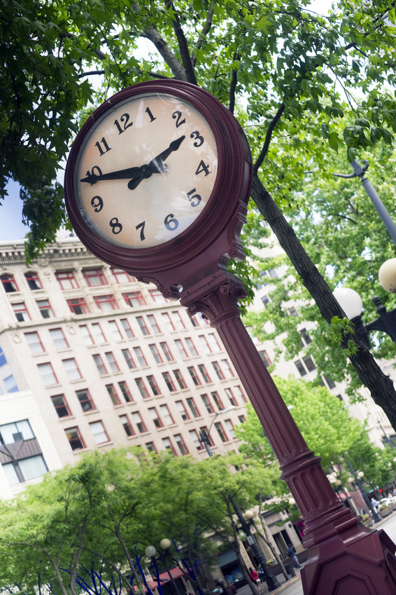 Decorative street clocks