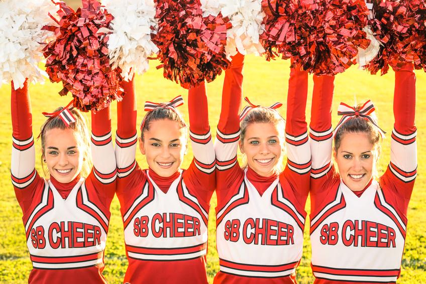 Cheer poms
