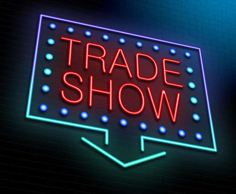 Custom trade show booth
