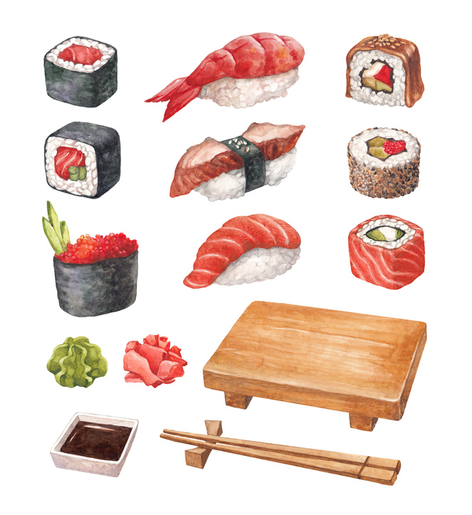 Fine sushi restaurants