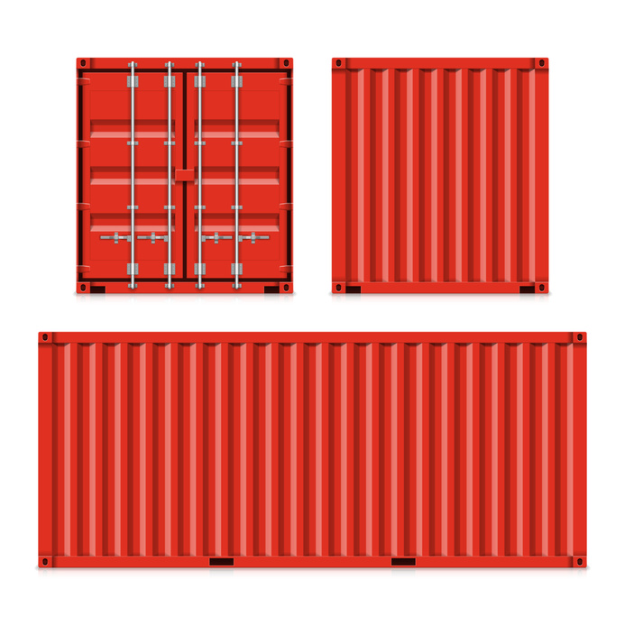 Reused shipping containers symbolize commitment to the for Shipping containers for sale in minnesota