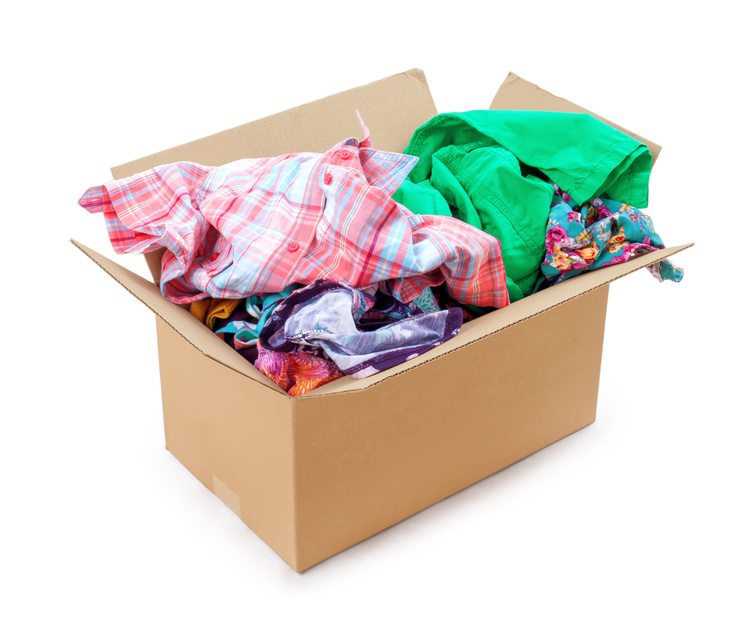 Used clothing donations