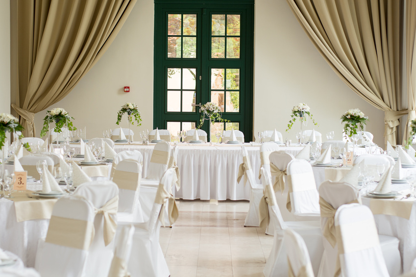 Tablecloth and chair cover rentals