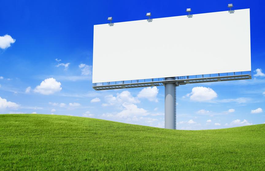 Billboard advertising north dakota