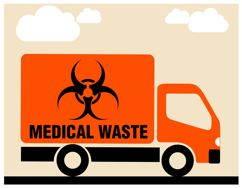 Medical waste disposal company