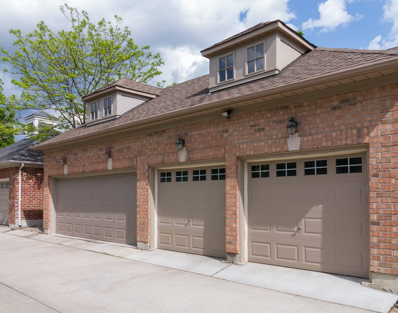 Garage door preventative maintenance