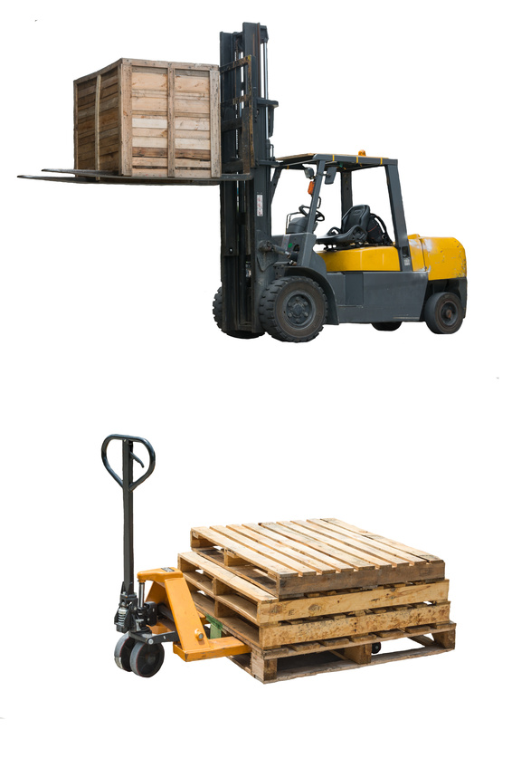 Forklift battery handling