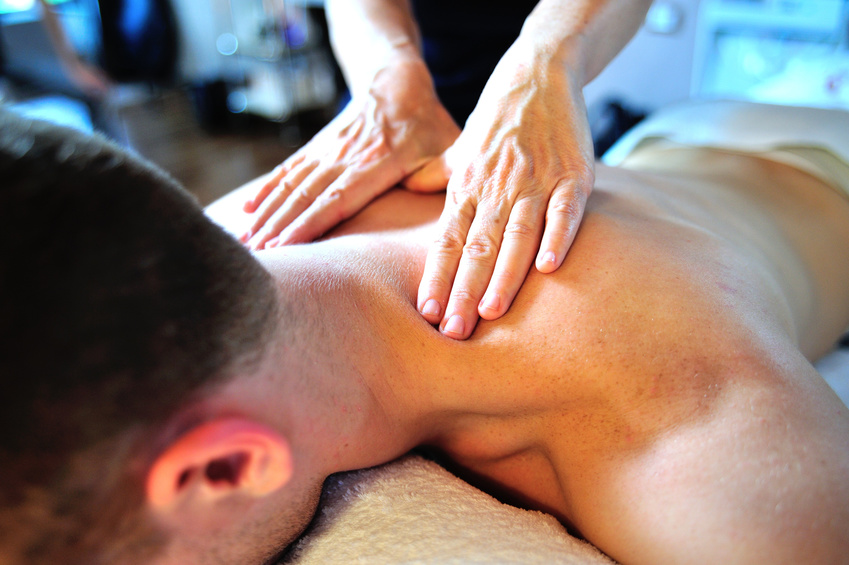 Using massage therapy