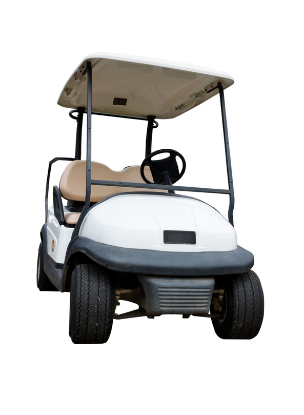 Refurbished golf cart