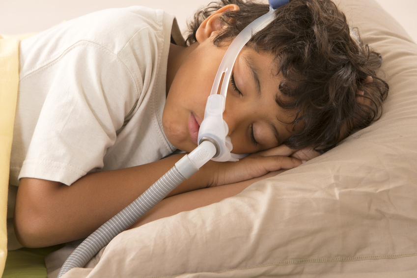 using a cpap machine