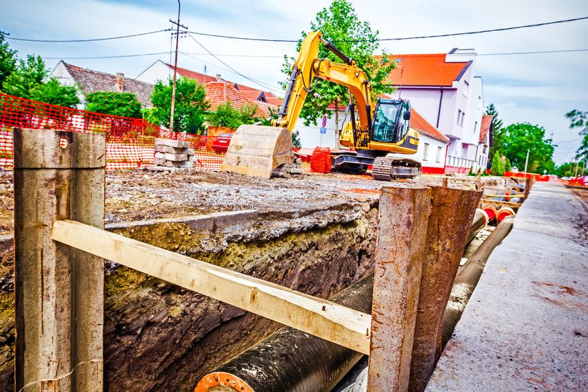 Excavation shoring