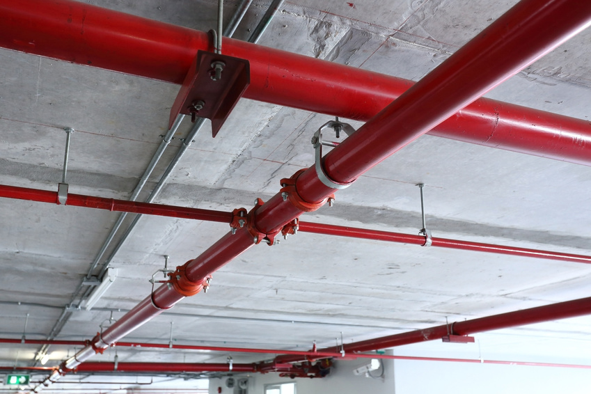 Fire sprinkler inspection service
