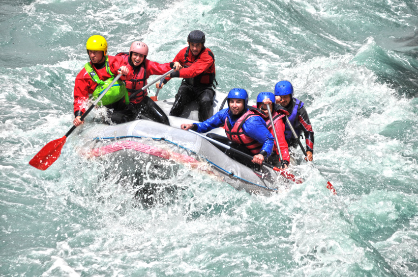 White water river rafting colorado