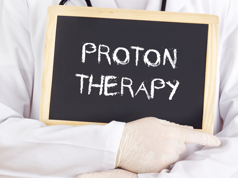 Proton beam radiation