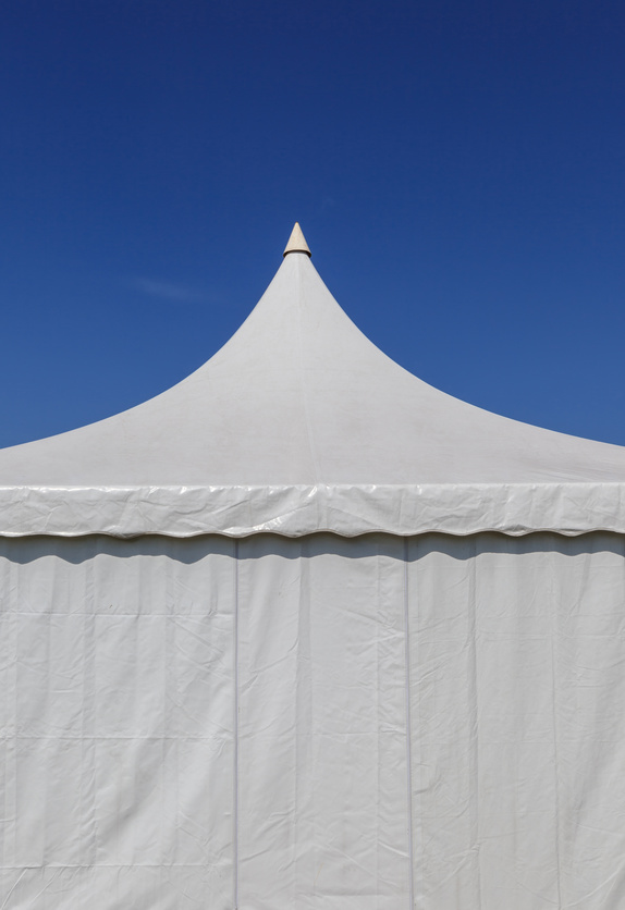 Rent a tent for a wedding