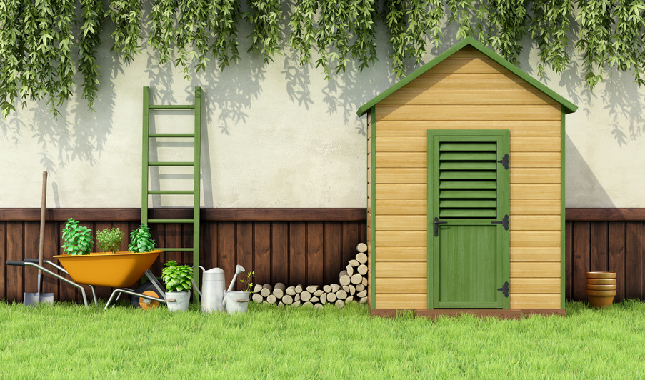Board and batten sheds