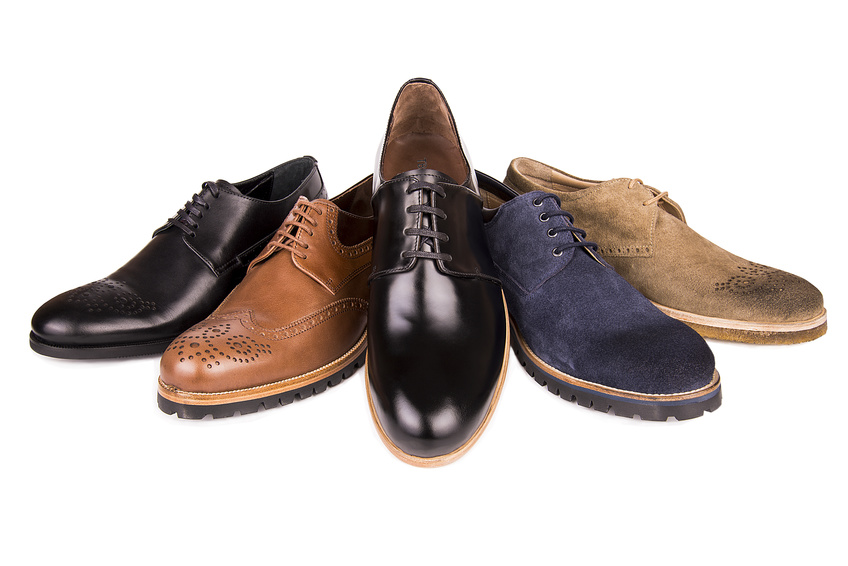 Designer lace up shoes for men