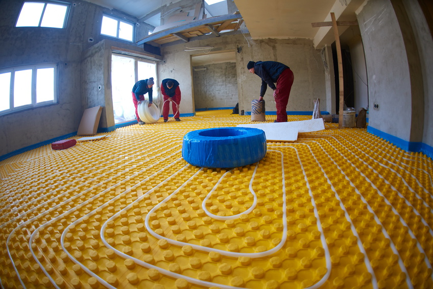 Radiant floor heating products